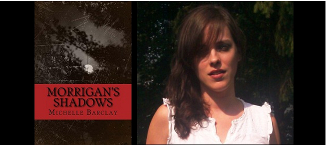 Interview with Morrigans's Shadows author Michelle Barclay