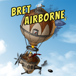 Bret Airborne by Machine 22