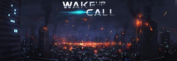 Wake Up Call Banner