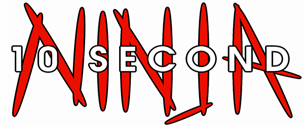10 Second Ninja Banner