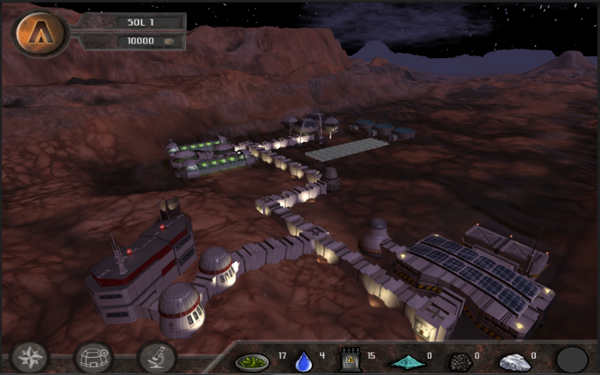 Periareion Mars Base