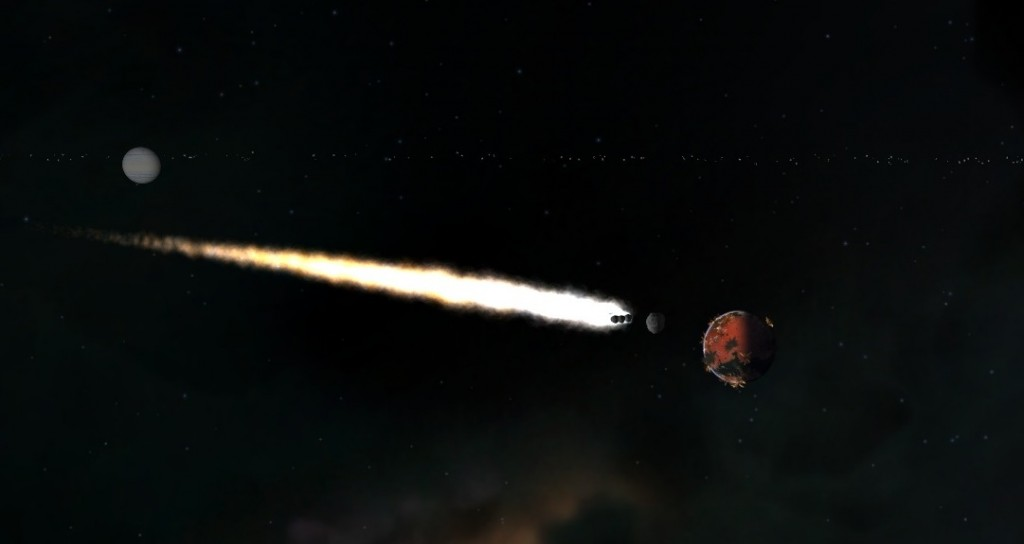 Incoming Asteroid Strike