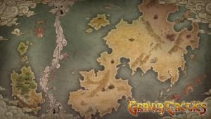 Gravia Tactics World Map